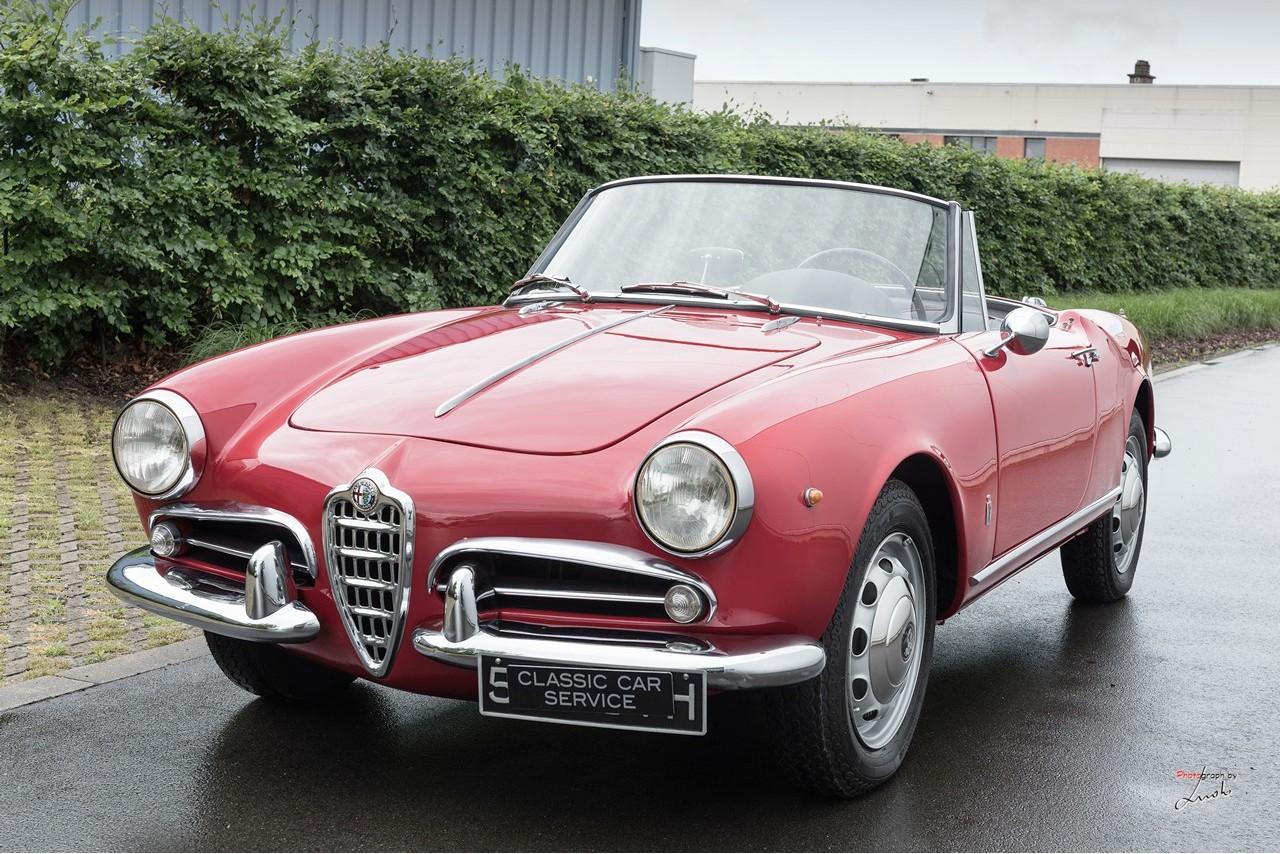 Classic Car Maintenance : Alfa romeo giulietta classic car service