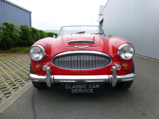 Classic Car Maintenance : Austin healey mkiii bj lhd classic car service