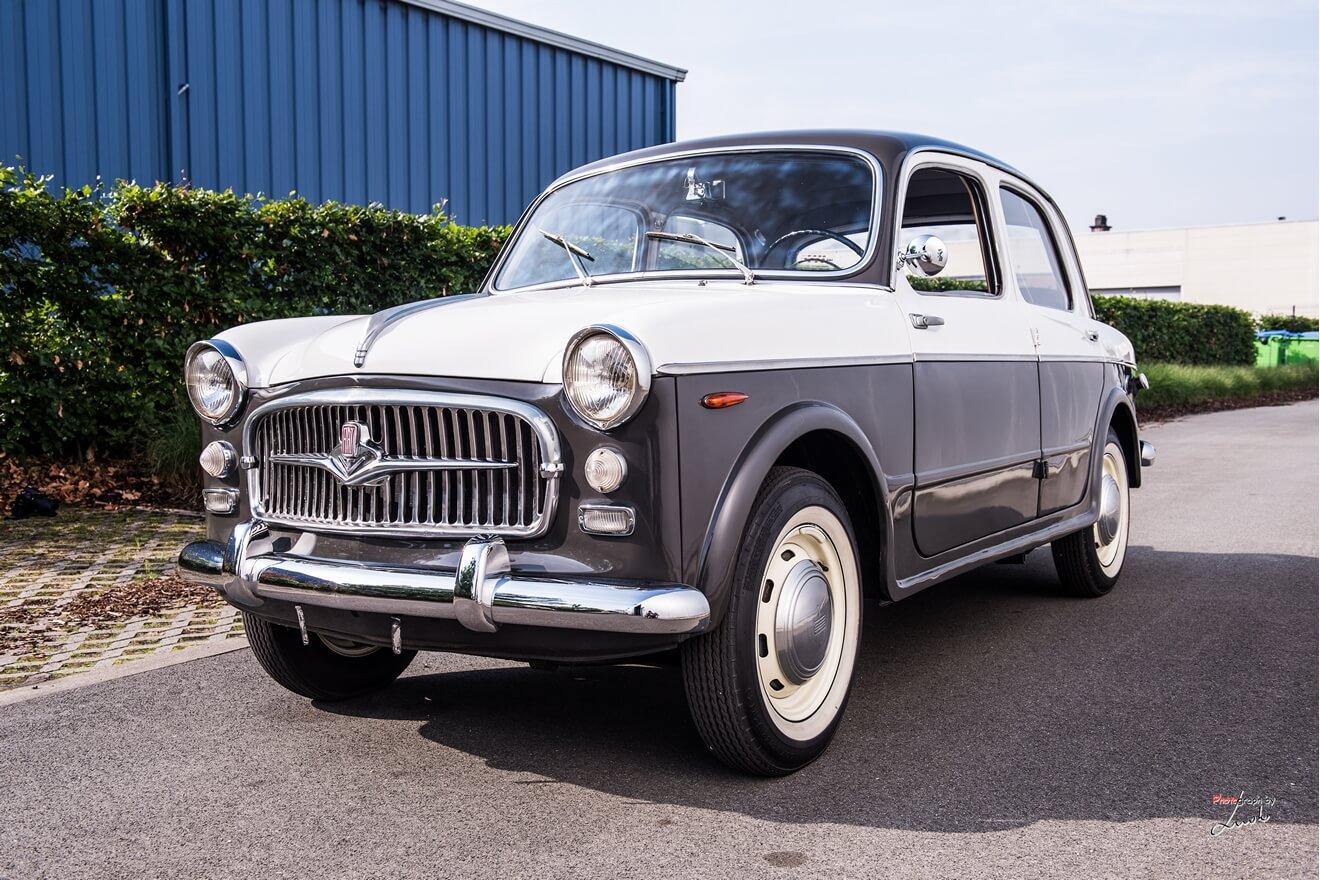 1956 Fiat 1100 103 TV (Turismo Veloce) Berlina – Classic Car Service
