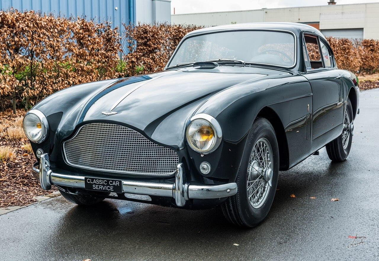 Classic Car Maintenance : Aston martin db mkiii classic car service