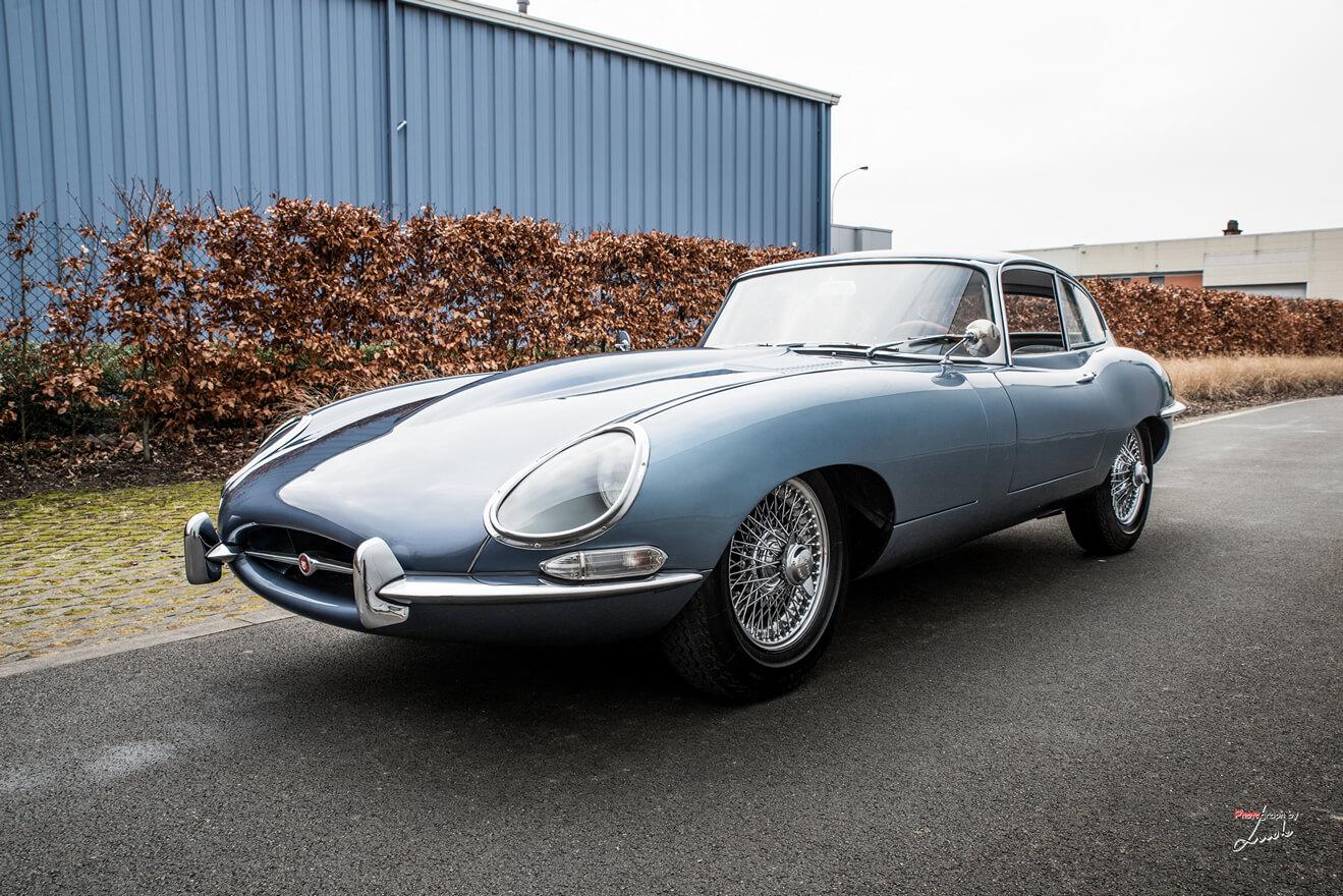 Captivating 1965 Jaguar E Type S1 4.2 Coupe